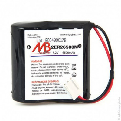 Batterie systeme alarme BATLI06 MB 7.2V 6.5Ah