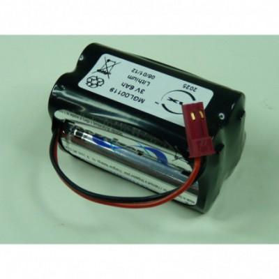 Batterie lithium 4x AA L91 2S2P ST2 3V 6Ah FC