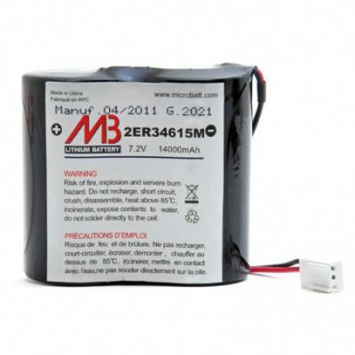 Batterie systeme alarme BATLI02 7.2V 14Ah MB