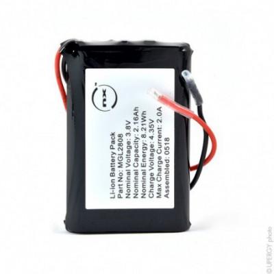 Batterie Li-Ion 1S1P ICR103450AHR+ PCM (8Wh) UN38.3 3.8V 2160mAh