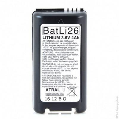 Batterie systeme alarme DAITEM BATLI26 3.6V 4Ah