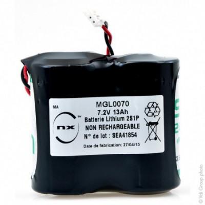Batterie lithium 2x D 2S1P ST1 BL13 7.2V 13Ah JST