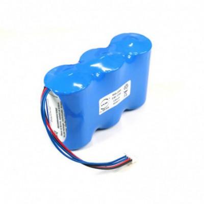 Batterie lithium 3x D 1S3P ST1 3.6V 17000mAh JST