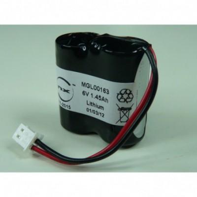 Batterie systeme alarme 2x CR123 2S1P ST1 6V 1.45Ah 5264
