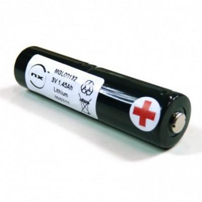 Batterie lithium 2x CR123 2S1P ST4 6V 1450mAh S