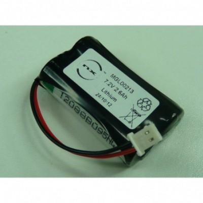 Batterie lithium 2x LS14500 2S1P ST1 7.2V 2600mAh Molex