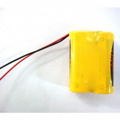 Batterie lithium 2x CR17450 2S1P ST1 6V 2.5Ah F100