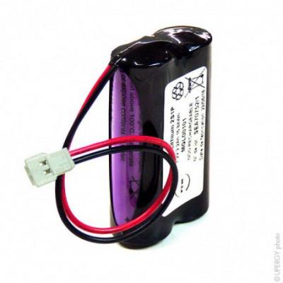 Batterie lithium 2x AA SL760 2S1P ST1 7.2V 2.2Ah JST