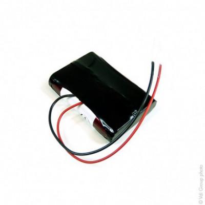 Batterie Li-Ion 1S1P 103450 + PCM (7.2Wh) 3.6V 2.35Ah Fils