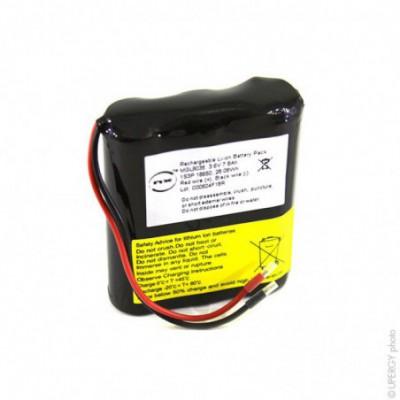 Batterie Li-Ion NX 1S3P ICR18650-26J + PCM (28Wh) UN38.3 3.6V 7.8Ah