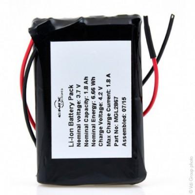 Batterie Li-Ion 1S1P + PCM 3.7V 1.8Ah