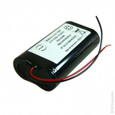 Batterie Li-Ion 2x18650  1S2P ST1 F150 3.7V 5.2Ah F100
