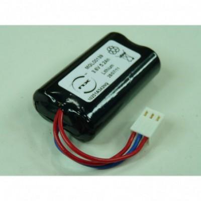 Batterie lithium 2x AA LS14500 1S2P 3.6V 5200mAh FC