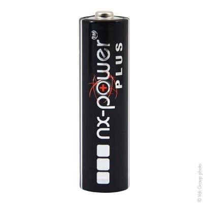 Pile alcaline LR6 - AA Nx-Power Plus Boite de 10 1.5V 3.4Ah