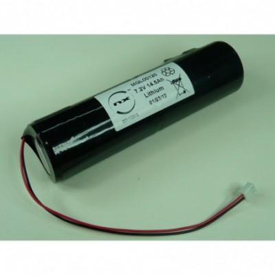 Batterie lithium 2x D 2S1P ST4 7.2V 14.5Ah FC