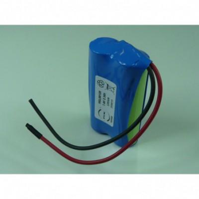 Batterie Li-Ion 2x 18650 2S1P ST1 7.2V 2.6Ah F100