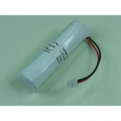 Batterie Li-Ion 1x 18650+PCM 3.6V 2600mAh JST