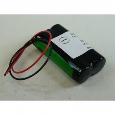 Batterie Li-Ion 2x 14500 2S1P ST1 7.2V 680mAh F150
