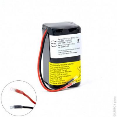 Batterie Li-Ion NX 2S2P ICR18650-26J + PCM (37.4Wh) UN38.3 7.2V 5.2Ah