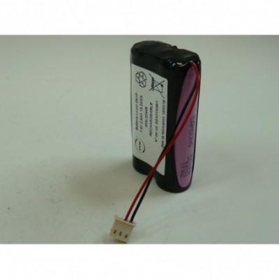Batterie medicale 2x 18650 2S1P ST1 F70 7.4V 2.6Ah 5264