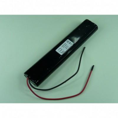 Batterie lithium 10x CR123 5S2P ST4 15V 2900mAh Fils