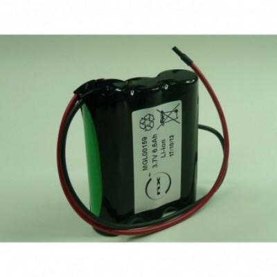 Batterie Li-Ion 3x 18650  1S3P ST1 3.7V 7.8Ah Fils
