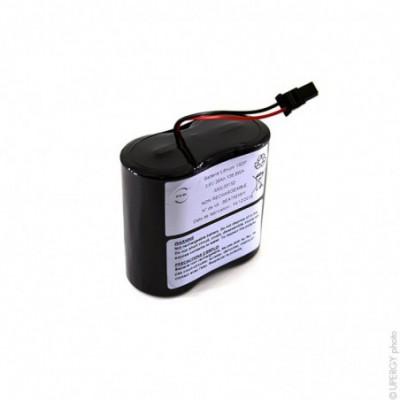 Batterie lithium 2x D SL2780 1S2P ST1 3.6V 38Ah MOLEX