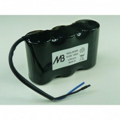 Batterie lithium 3x D MB 3S1P ST1 10.8V 14000mAh Fils