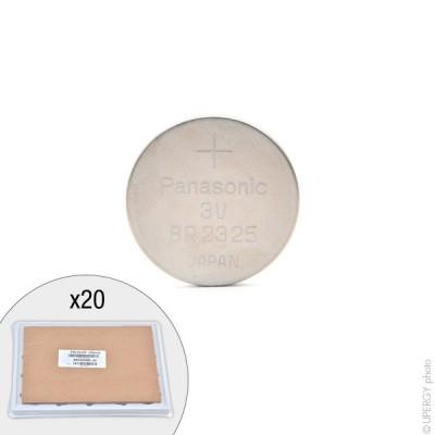 Pile bouton lithium BR2325/BN PANASONIC 3V 165mAh