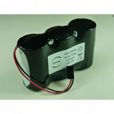 Batterie lithium 3x D LSH20 3S1P ST1 10.8V 13000mAh HE13