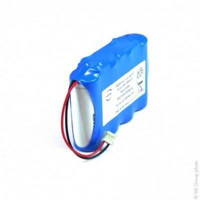 Batterie Li-Ion 4x 18500  4S1P ST1 14.4V 2Ah JST