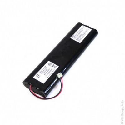 Batterie médicale 9x 18650 3S3P ST5 10.8V 7.8Ah JST