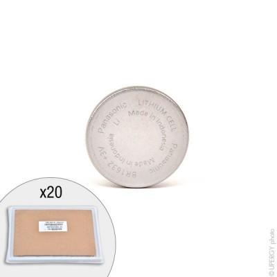 Pile bouton lithium BR1632/DBN PANASONIC 3V 120mAh
