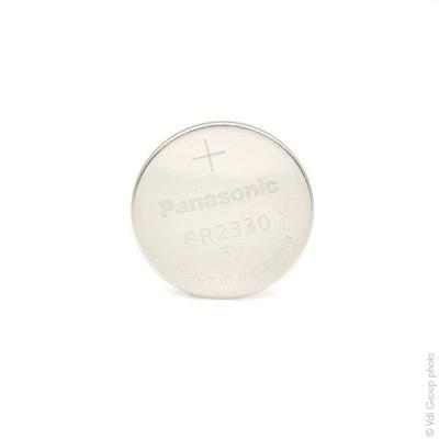 Pile bouton lithium BR2330/BN PANASONIC 3V 255mAh