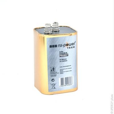 Pile alcaline 4LR25R Nx-Power Tech Métal 6V 15Ah