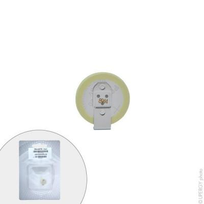 Pile bouton lithium blister CR1220/HFN PANASONIC 3V 35mAh