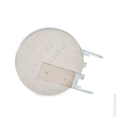 Pile bouton lithium blister CR2032FV-LF RENATA 3V 225mAh