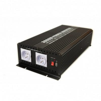 Convertisseur DC-AC 12-230V 3000W quasi-sinusoïdal EM
