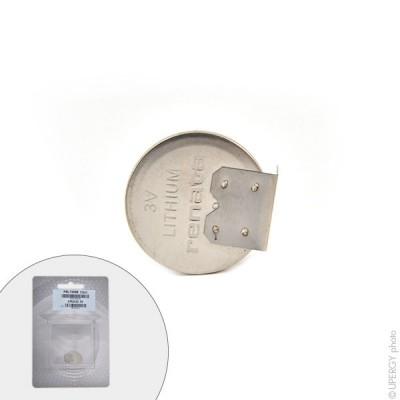 Pile bouton lithium blister CR2032 MFR RH RENATA 3V 225mAh