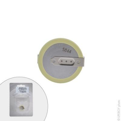 Pile bouton lithium blister BR2032/HFN PANASONIC 3V 190mAh