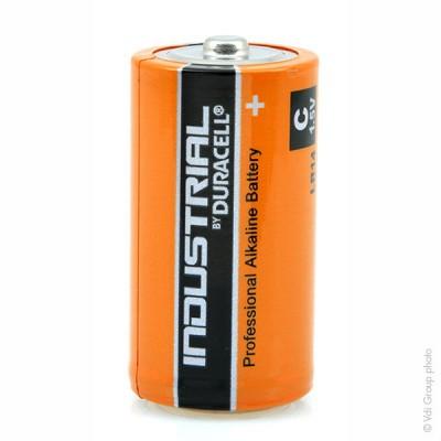 Pile alcaline LR14 - C Duracell Industrial Boite de 10 1.5V 7.75Ah