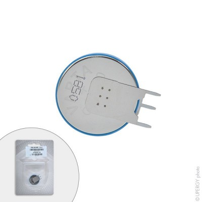 Pile bouton lithium blister CR2430 SLF VARTA 3V 280mAh