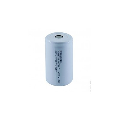Accus Nicd industriels D HT 1.2V 4000mAh FT