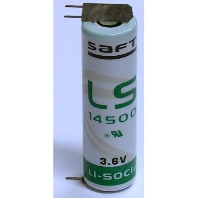 Pile Lithium 3.6V 2.6Ah LS14500 CI2+