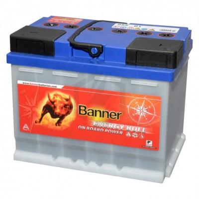Batterie Décharge Lente BANNER 95501 12V 60Ah
