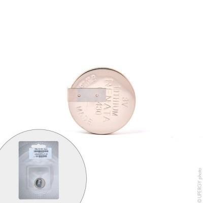 Pile bouton lithium blister CR2430FH-LF RENATA 3V 285mAh