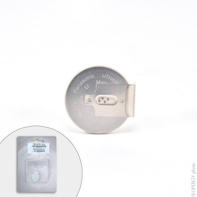 Pile bouton lithium blister BR2330/GUN PANASONIC 3V 255mAh