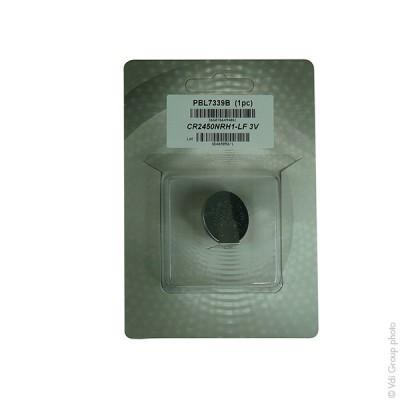 Pile bouton lithium blister CR2450NRH1-LF RENATA 3V 540mAh