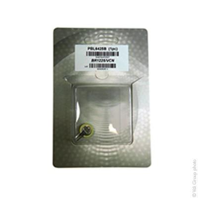 Pile bouton lithium blister BR1225/VCN PANASONIC 3V 48mAh