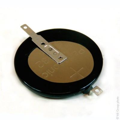 Pile bouton lithium 1x CR3032/F2N PANASONIC 3V 500mAh